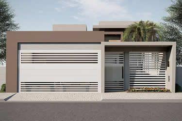 Arquitetura simples e atual.