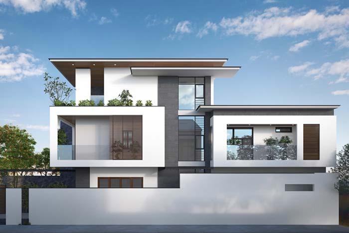 Casa com estrutura inovadora