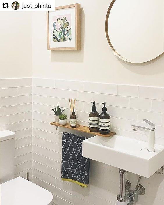 Banheiros modernos trazem cubas diferenciadas, como essa.