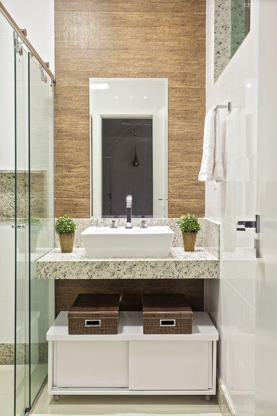 É possível investir em banheiros modernos e baratos.