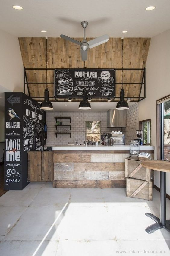 espaço gourmet inspirada em barzinho