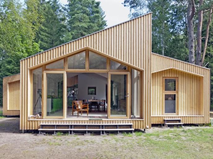 Casas modernas trazem desempenho térmico e acústico.