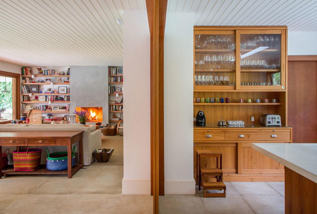 Casas modernas no campo unem conforto ao visual atual.