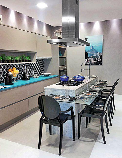 Decoração atemporal para cozinhas modernas.