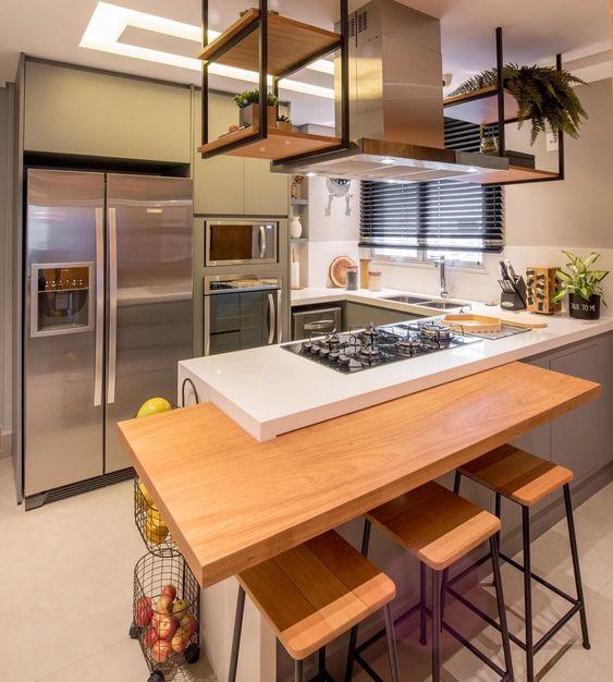 Cozinhas modernas pedem projetos inovadores.