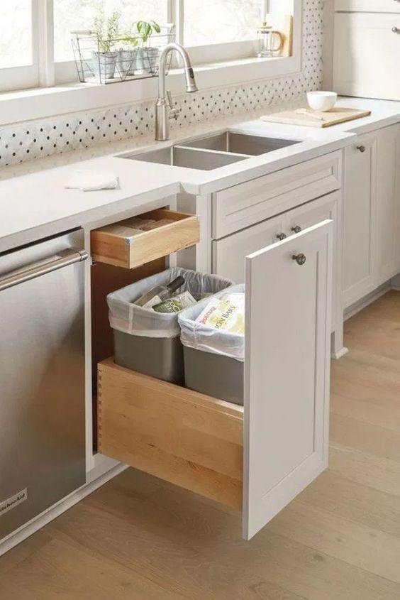 Cozinha moderna e sustentável