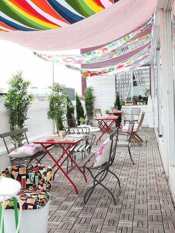 espaço gourmet com decoração divertida