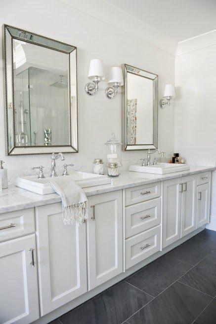 espelhos bisotados para banheiro