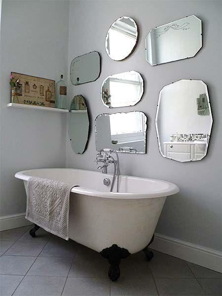 espelho bisotado composição para banheiro