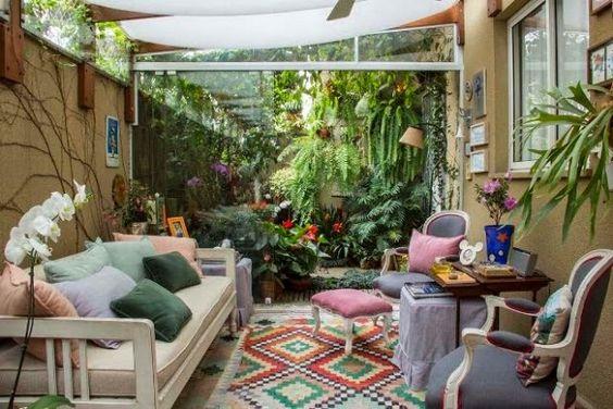 apartamentos garden em áreas gourmet