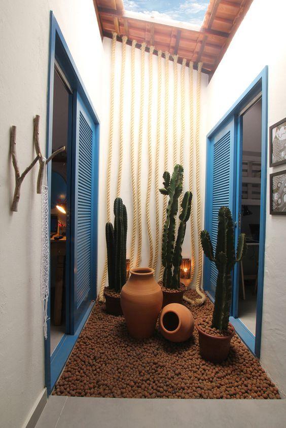 Inspirações de jardins pequenos para todos os tipos de morada.