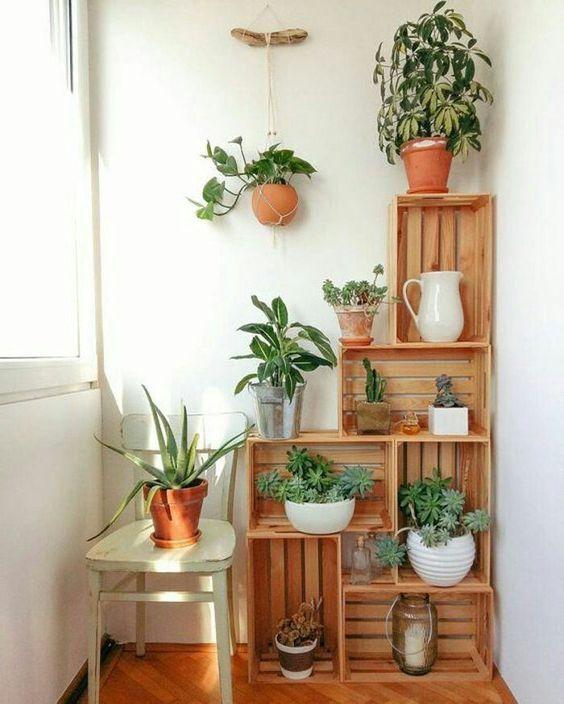 Jardins pequenos para apartamentos.