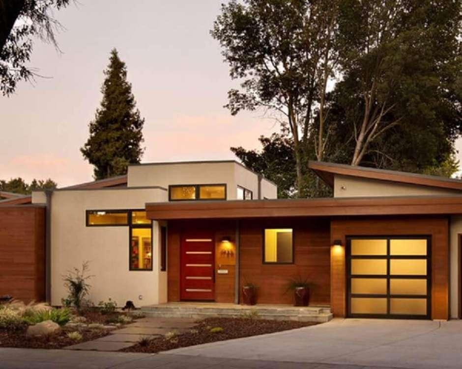 Casa moderna de dois andares,
