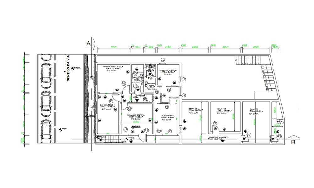 modelo de projeto básico de arquitetura