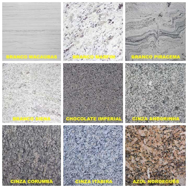 Tipos de granito branco