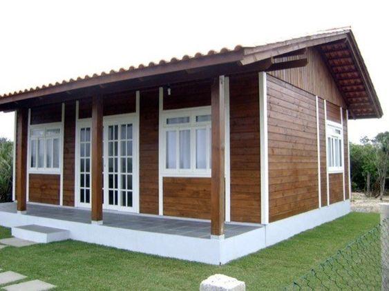 Casas de madeira simples