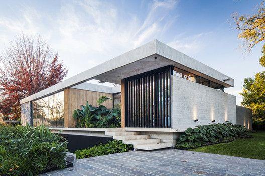 Fachadas de casas modernas térreas