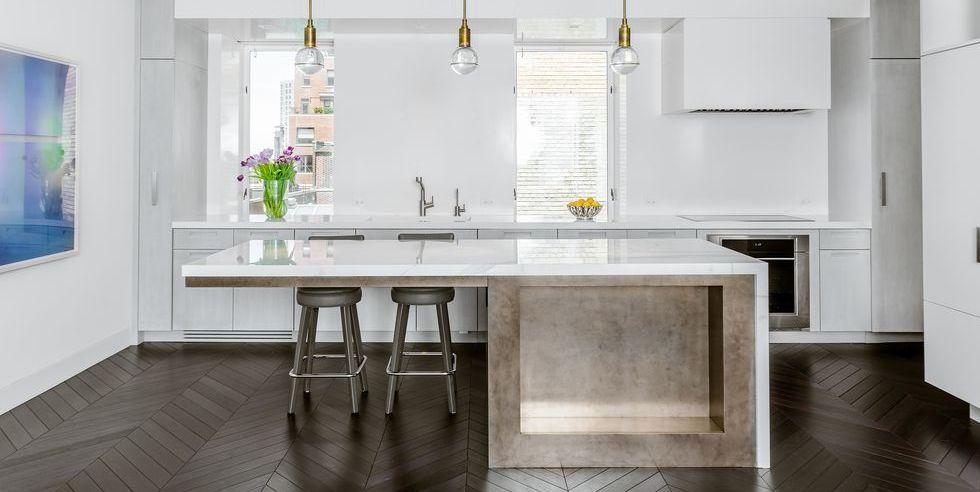 Cozinha moderna e minimalista.