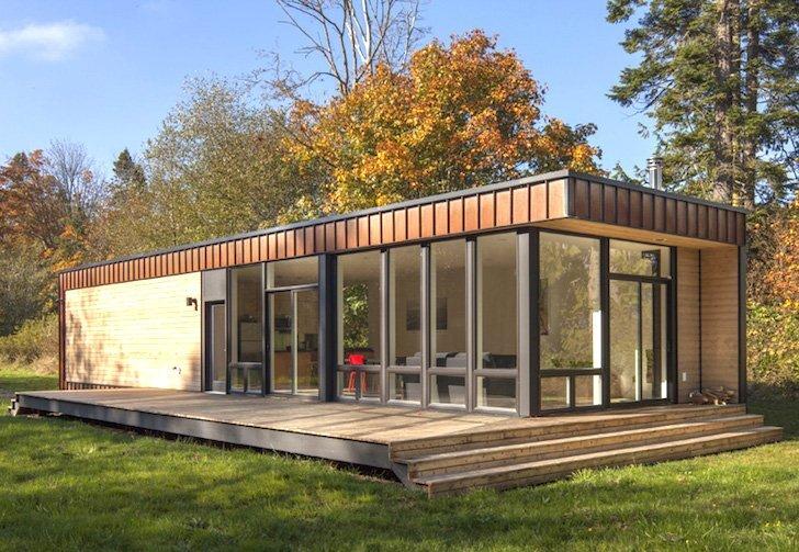 casa com estrutura de ferro.