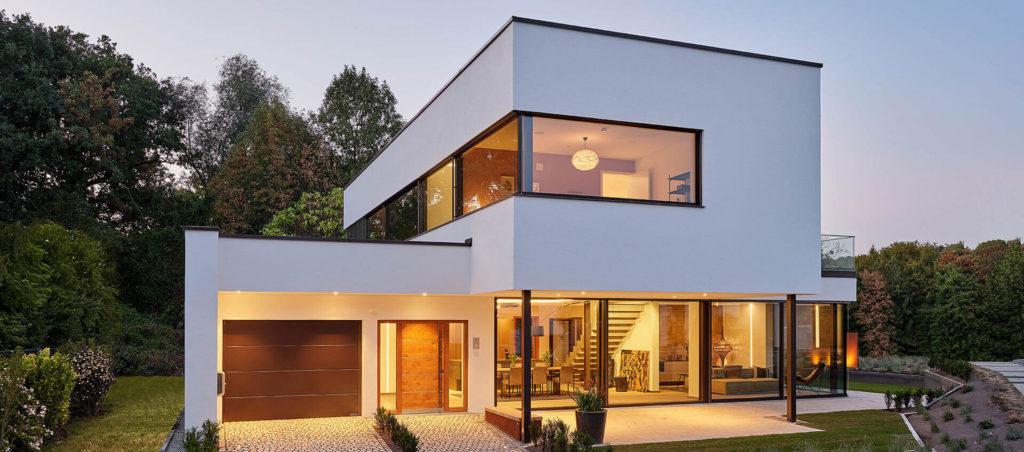 Casa pré-moldada.
