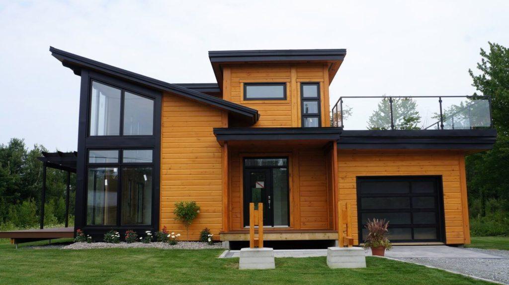 Modernidade marca projeto de casa do campo.