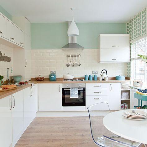 cozinha estilo escandinavo.