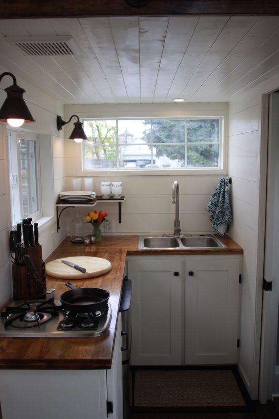 cozinha estreita e pequena