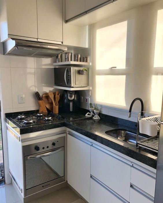 cozinha simples e pequena