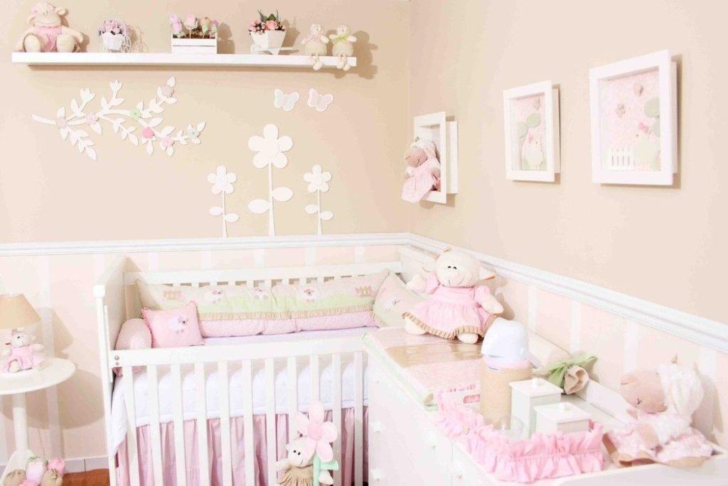 quarto de bebê rosa bebê