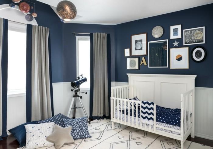 quarto bebê masculino navy azul