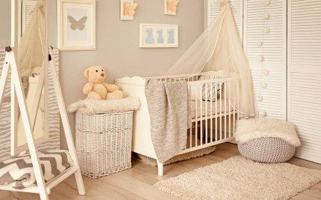 quarto de bebê em tons neutros