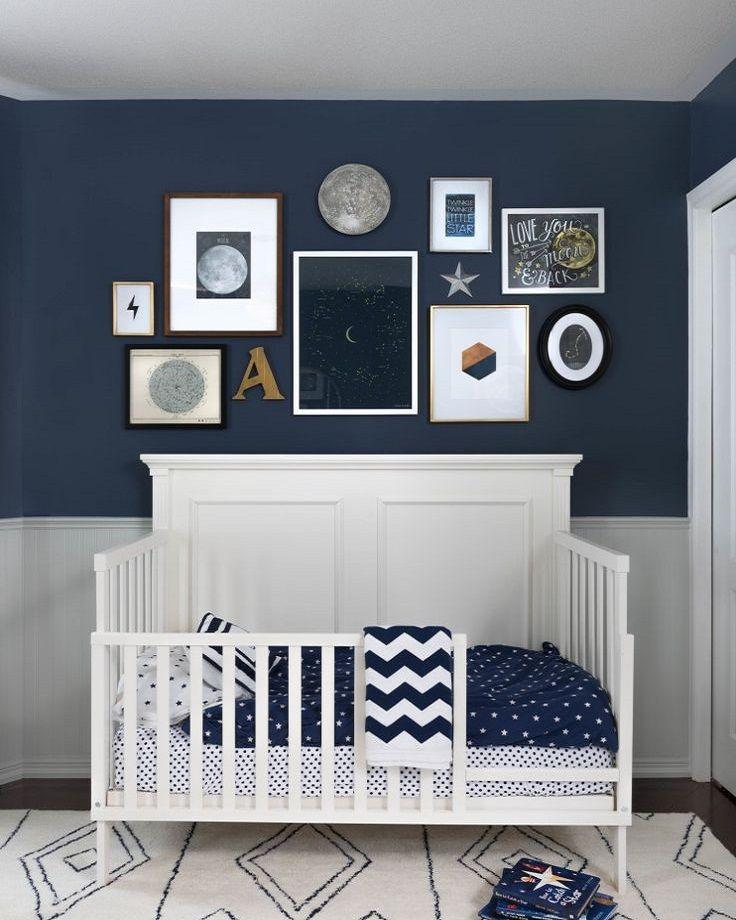 decoração infantil masculina azul marinho