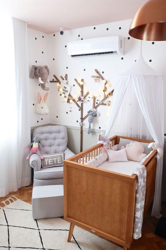 quarto de bebê tumbrl cinza