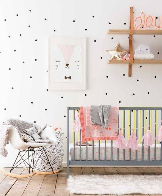 quarto de bebê cadeira de balanço eames