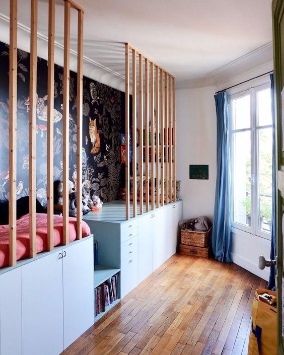 quarto de criança planejado azul