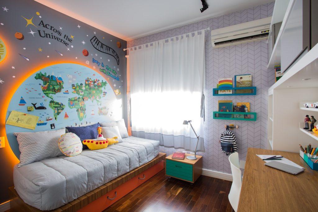 quarto de criança inspirado nos beatles