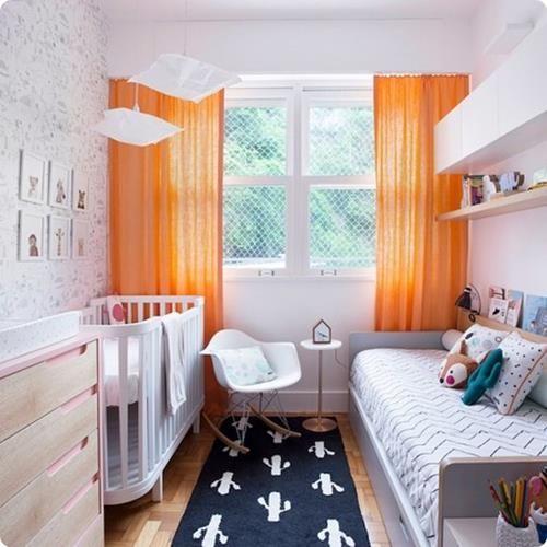 quarto para criança e bebê raposinha