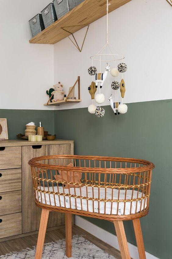 quarto de bebe neutro com mini berço