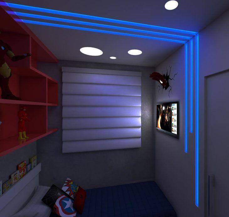 Projeto de iluminação com fita de led.