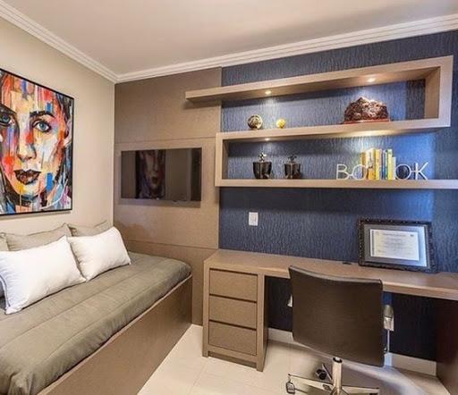 quarto masculino planejado cor fendi