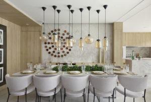 Sala de jantar decorada
