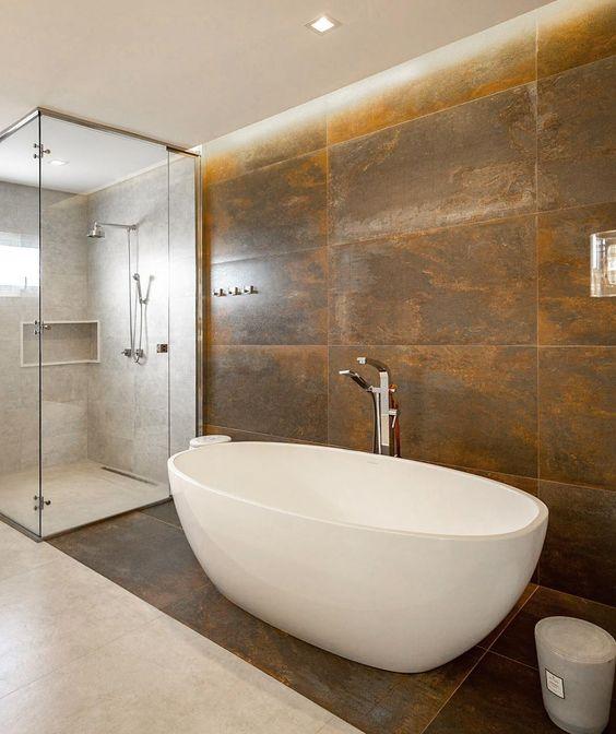 banheira oval de imersão