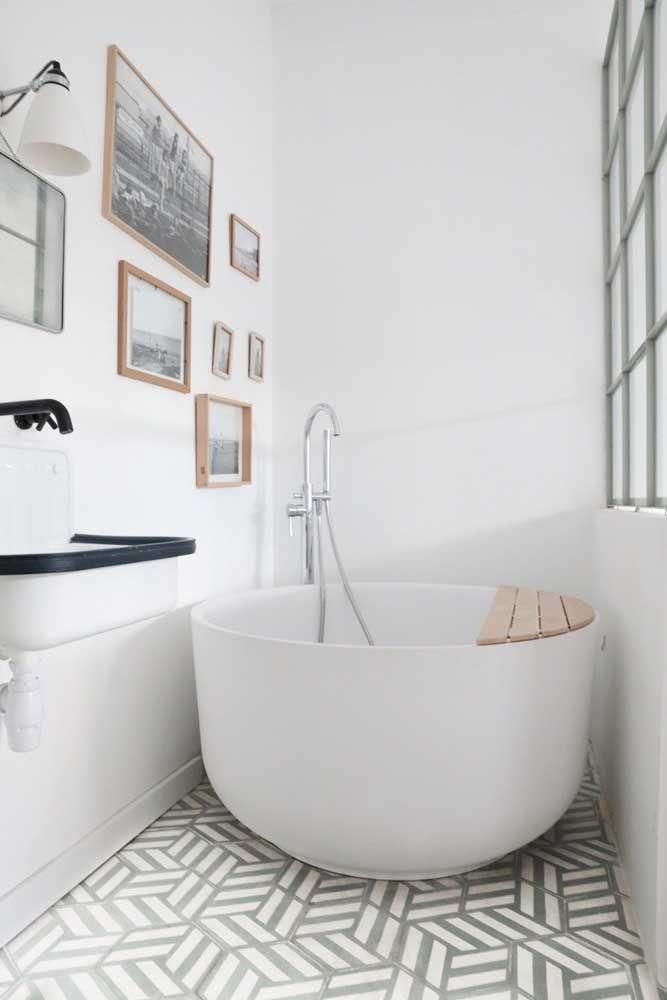 banheira redonda pequena