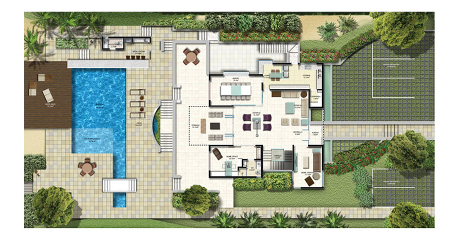 casa grande e moderna