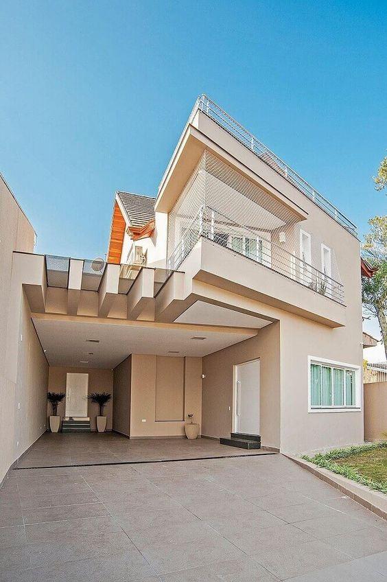 Cores de casas claras oferecem a sensação de amplitude.