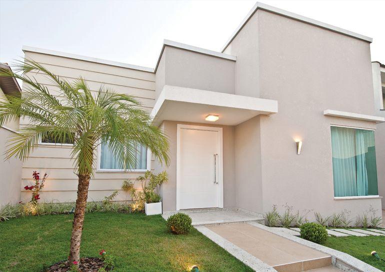 Cores de casa neutras combinam com o branco.