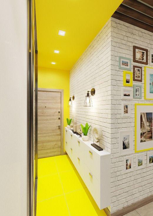 parede de tijolinho pintados de branco