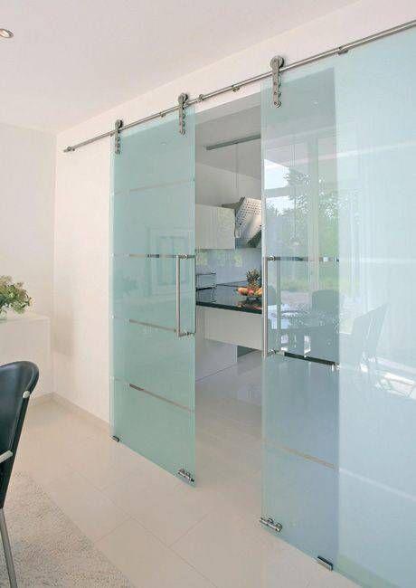modelos de portas de vidro leitoso de correr