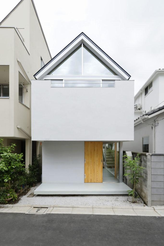 Casas pequenas com arquitetura moderna.