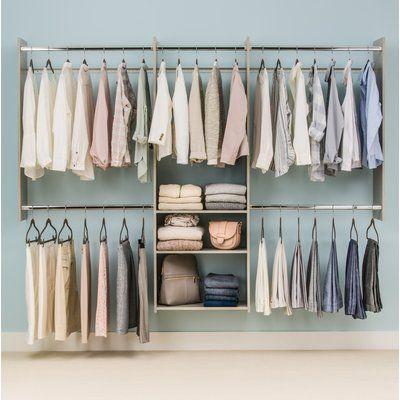 modelos de closet simples e pequeno